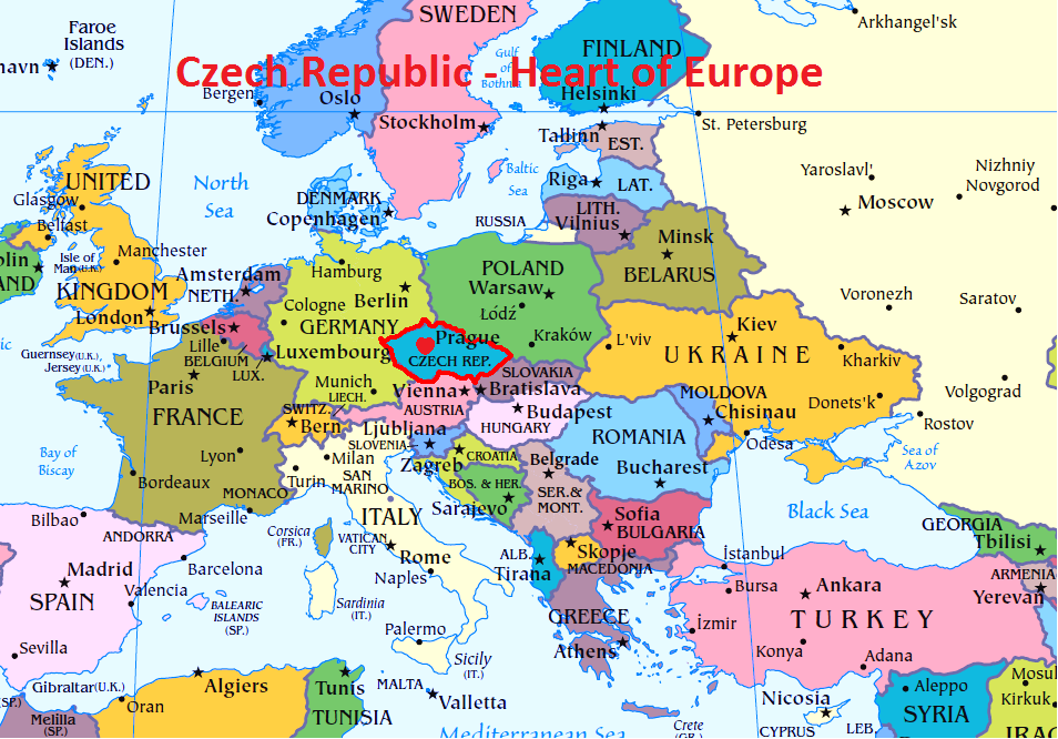Reasons to study in the Czech Republic in the Heart of Europe
