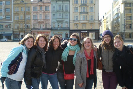 students-enjoying-their-day-trip-to-pilsen-czech-republic